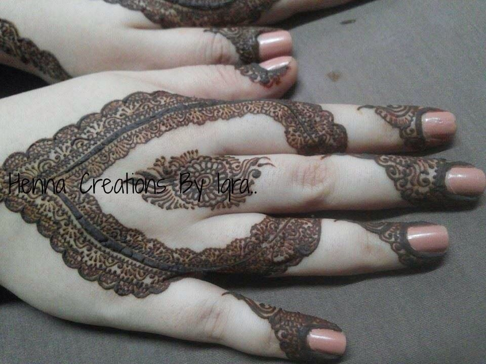 Credits Henna Creations By Iqra On Facebook Mehndi Henna Henna