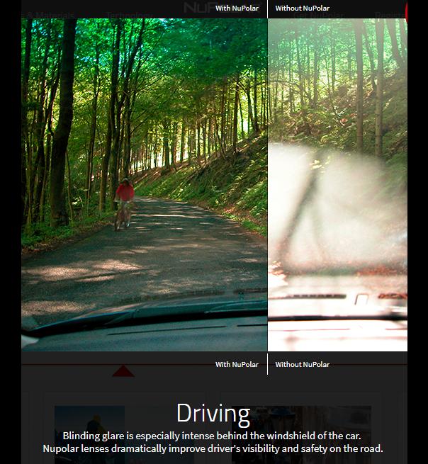 NuPolar Lenses Stop Glare! Lenses, Road safety, Natural