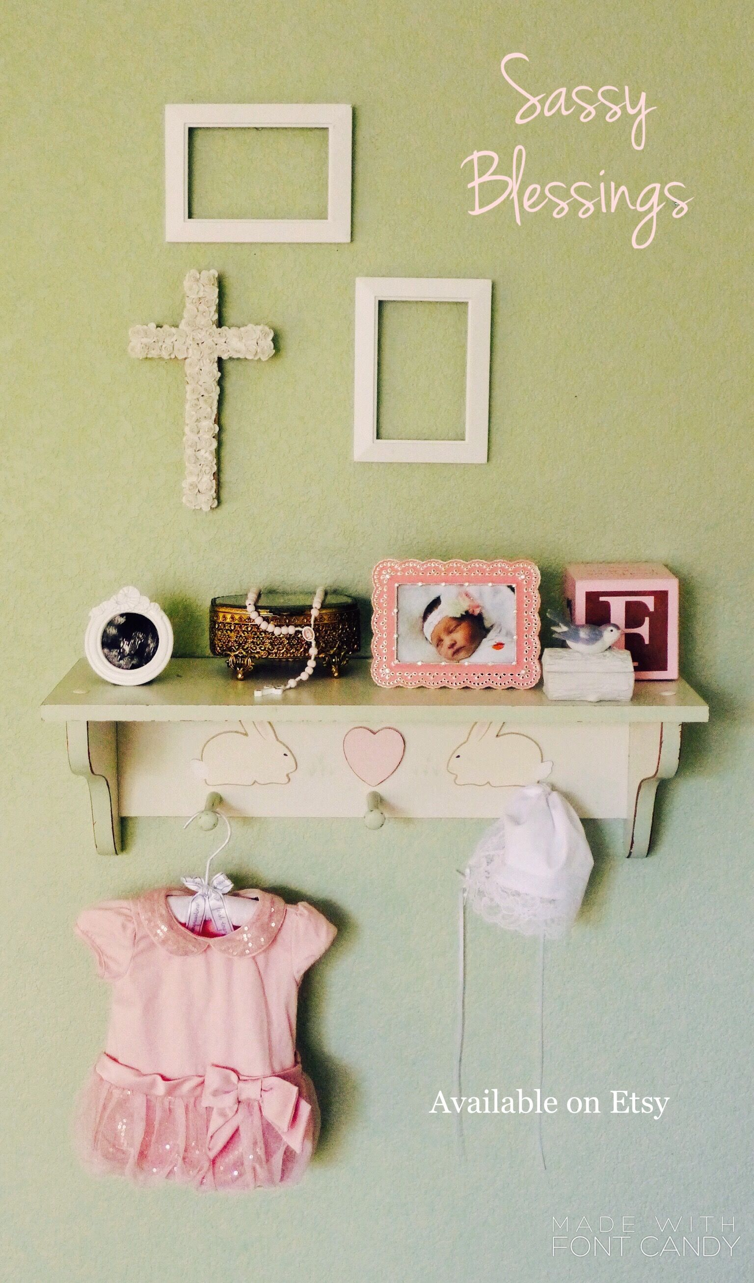 Christening ideas girl/ christening gift ideas girl/ christening ...