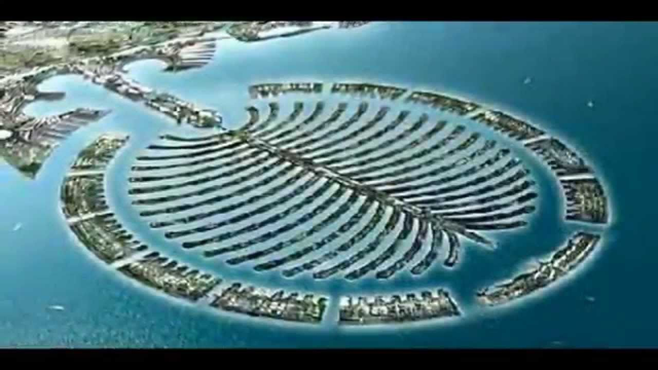 The palm island in Dubai | United Arab Emirates