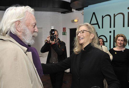 Donald Sutherland und Annie Leibovitz im KUNST HAUS WIEN | Flickr - Photo Sharing!