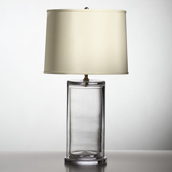 Simon pearce lamp similar but ours is more rectangle and has a custom lamp