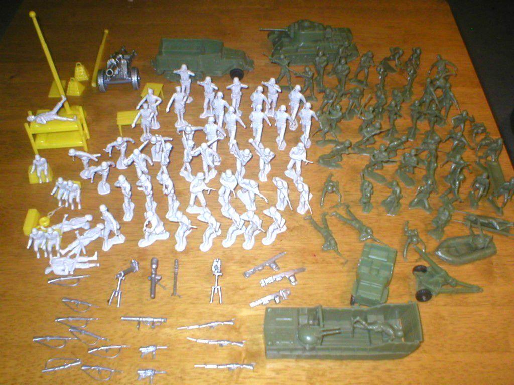 Kids Toys Action Figure: Marx Toys Navarone Play Set 3412 The Mountain Battleground