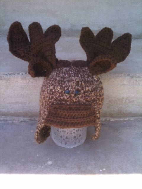 Another cute pattern! Crochet pattern moose and deer all sizes by snappytotscreations, $4.99