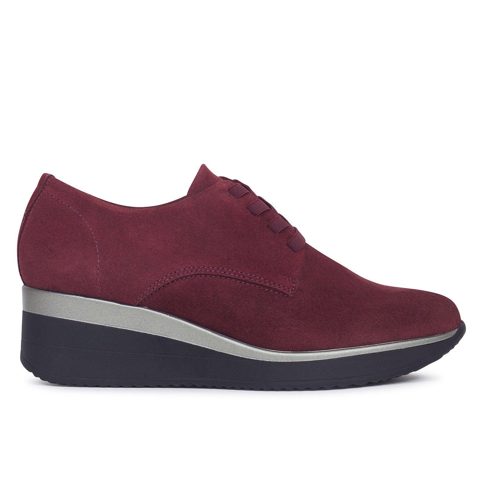 93aaebbb Zapato blucher mujer BURDEOS de piel Zapatos online de marca miMaO – miMaO  ShopOnline