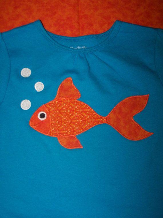 Goldfish Tee - Bloop Bloop