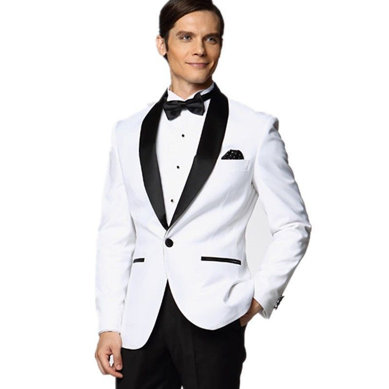 Custom Made High Quality Fashion Men\'s Slim Fit Suit Tuxedos ...