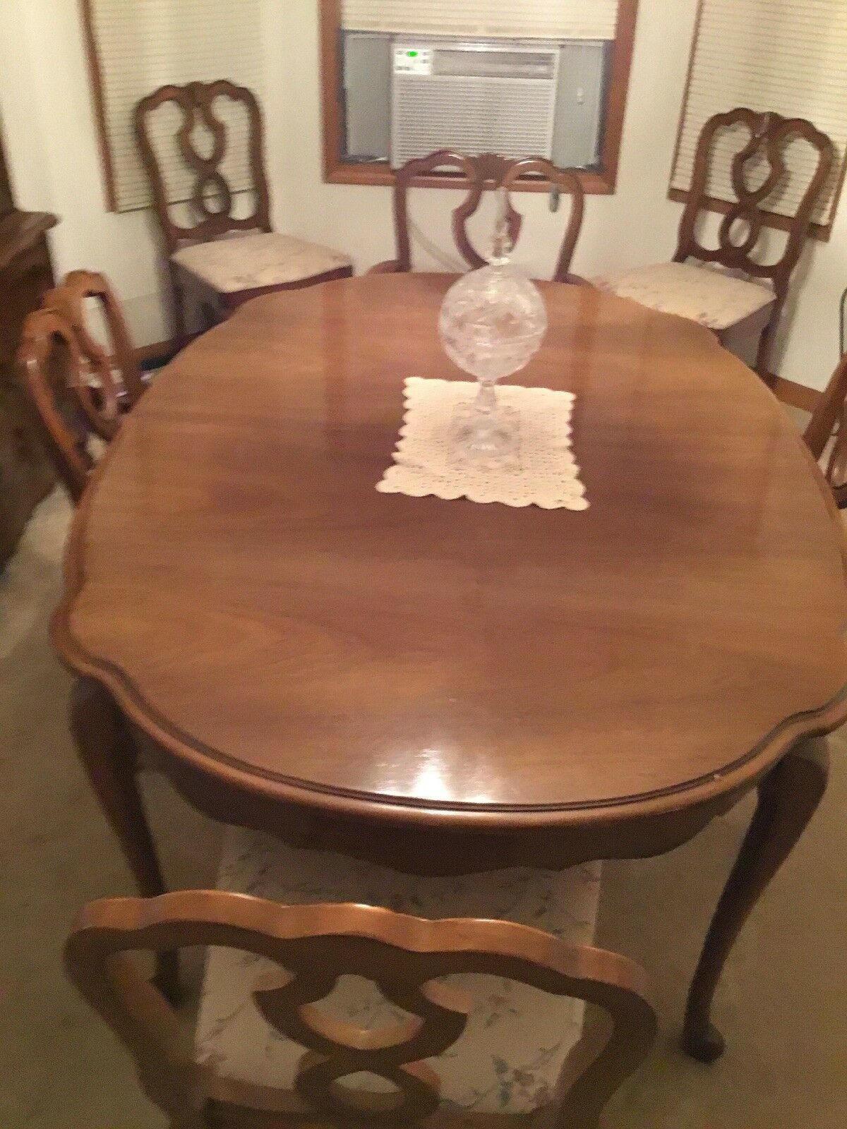 french provincial furniture Dining Room Set Circa 1960 in
