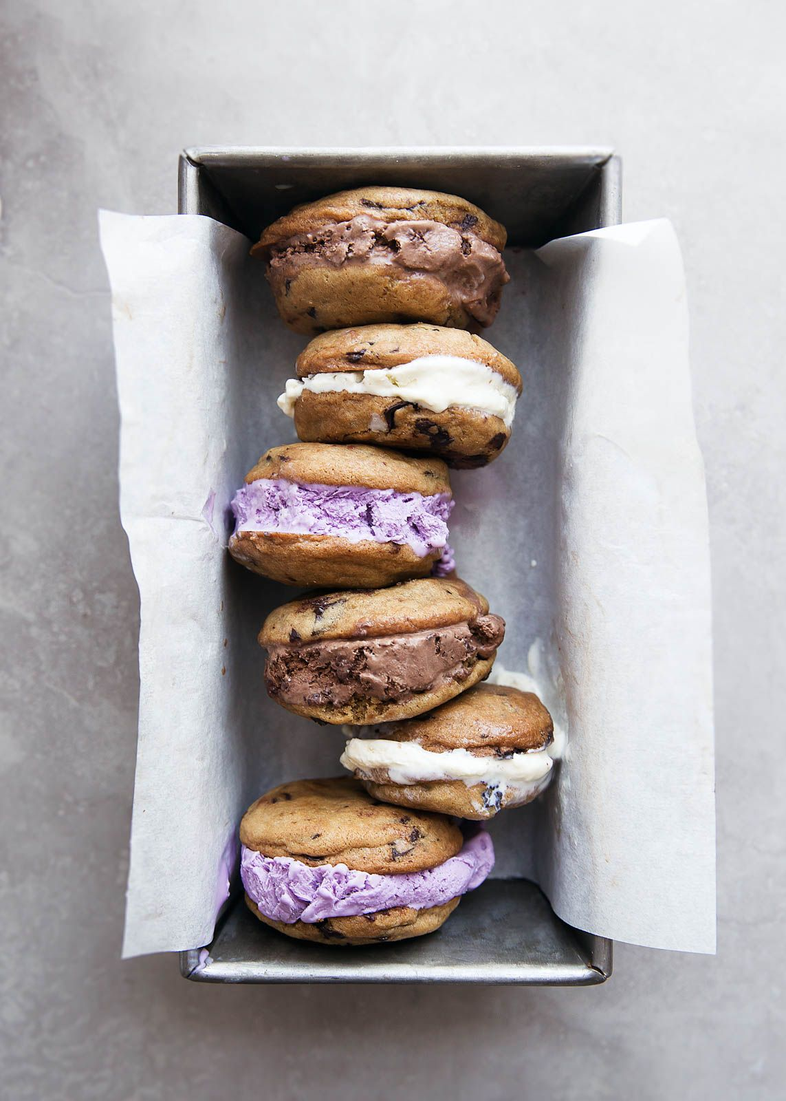 Learn the secret to making the best ice cream sandwich cookies ever! Crunchy on the outside, chewy on the inside, and the perfect thickness to hold a huge scoop of ice cream. #icecreamsandwich