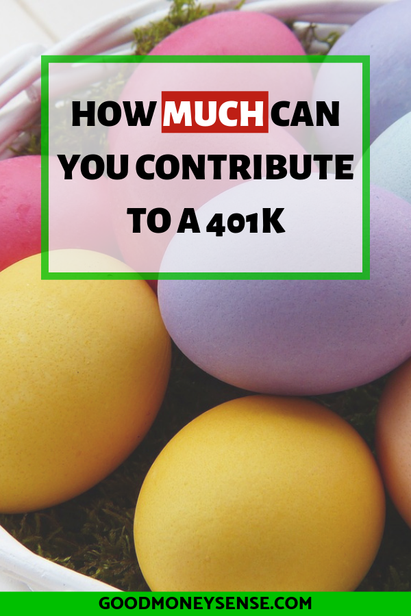 401k Contribution Limits for 2019 #financenestegg