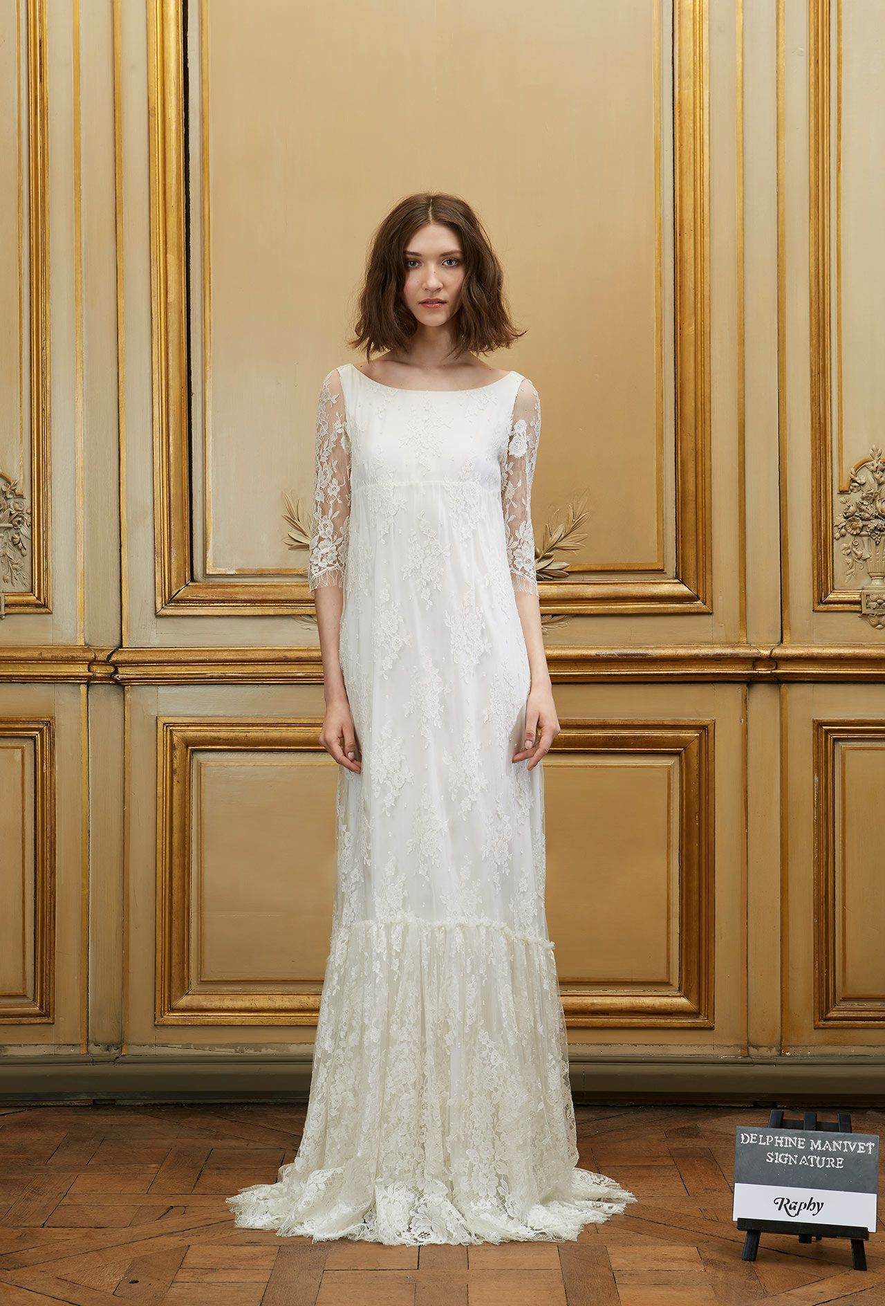 In Love With Beauty And Traditions Delphine Manivet Designs Modern Timeless Bridal Dresses