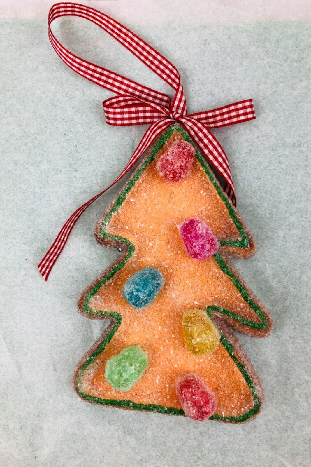 Details about Gingerbread Tree Gumdrop Ornaments Christmas ...