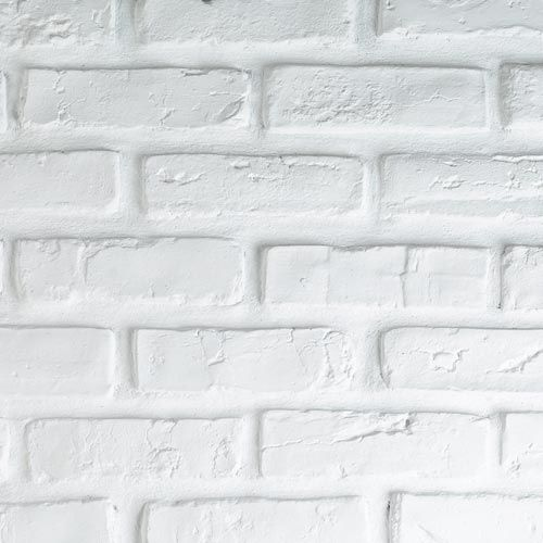 briquette blanche a peindre