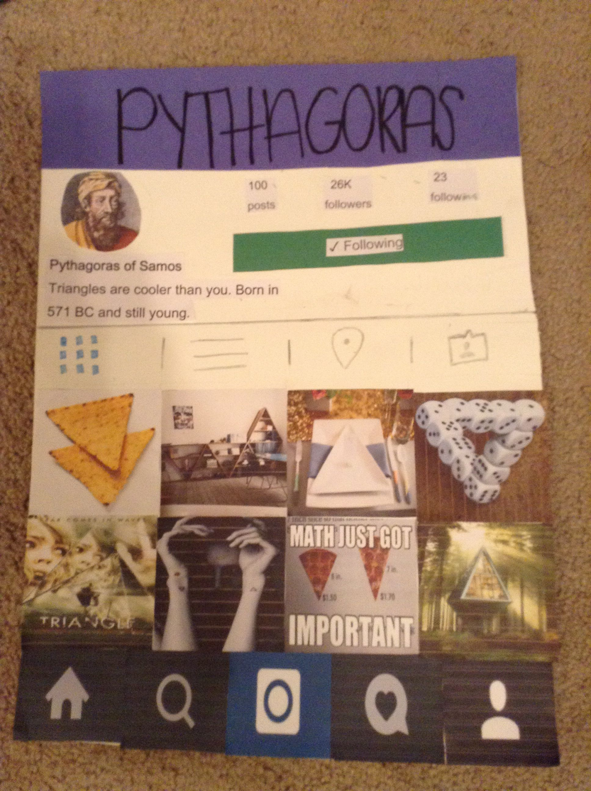 if pythagoras had social media instagram version lymoore209 if pythagoras had social media instagram version lymoore209