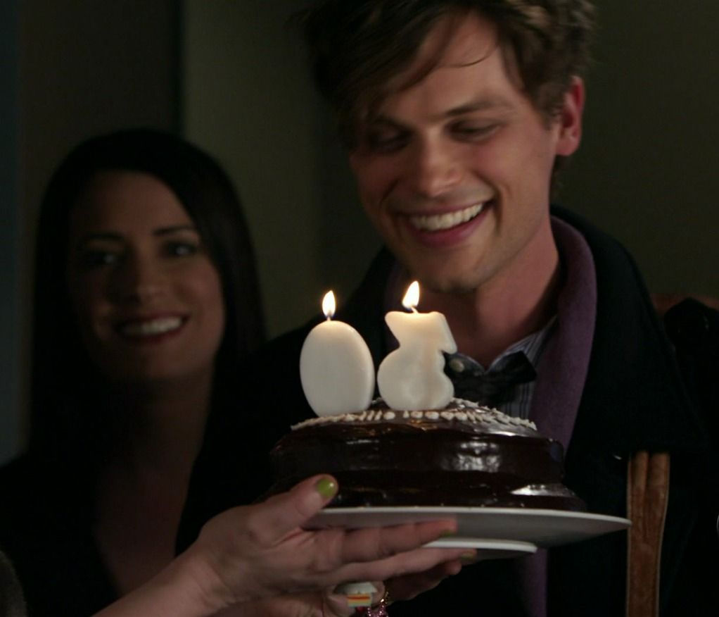 Celebrating Reid's birthday    hes 32 in real life    I know things