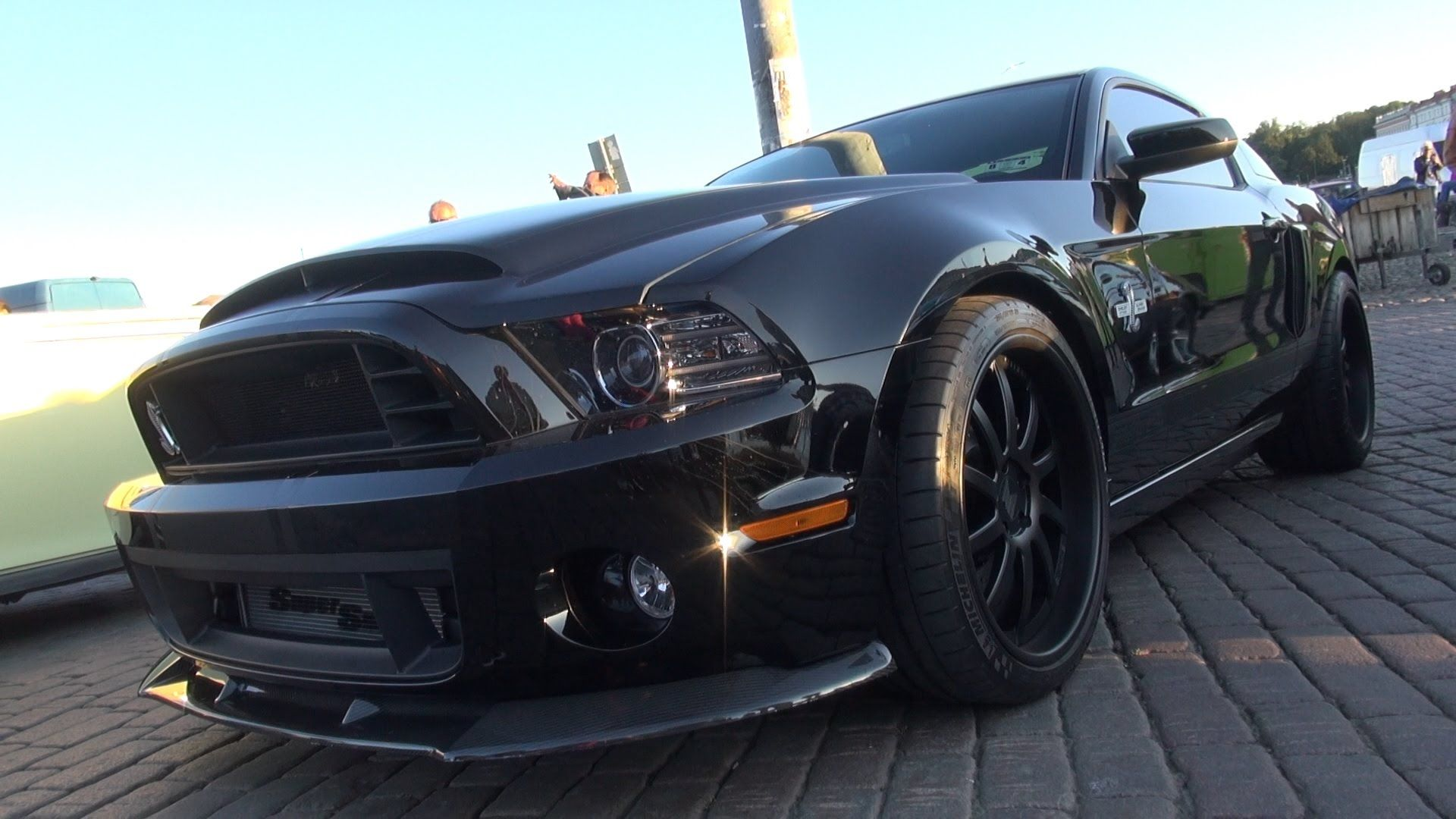 All Black 850 Hp Shelby Gt500 Super Snake Sound And Acceleration