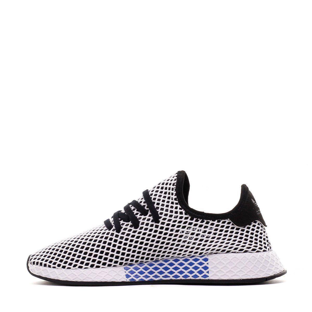 b6e2afcd6c223 Men Adidas Originals Deerupt Runner Core Black White CQ2626 ...