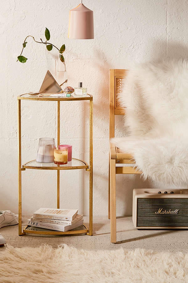 Urban Outfitters Dalia Triangle Side Table Scandinavian Interior Design Scandinavian Interior Furniture For Small Spaces Urban Outfitters Home Decor