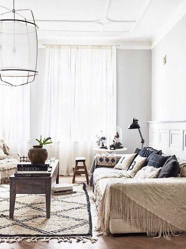 Eclectic Bedroom Vintage Colour