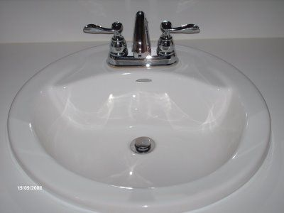 Cleaning The Bathroom Sink Diy Household Cleaners