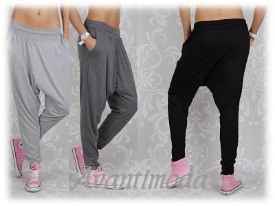 Spodnie Baggy Dresowe Luzne Dance Pumpy Must Heve 4821269439 Oficjalne Archiwum Allegro Fashion Baggy Harem Pants