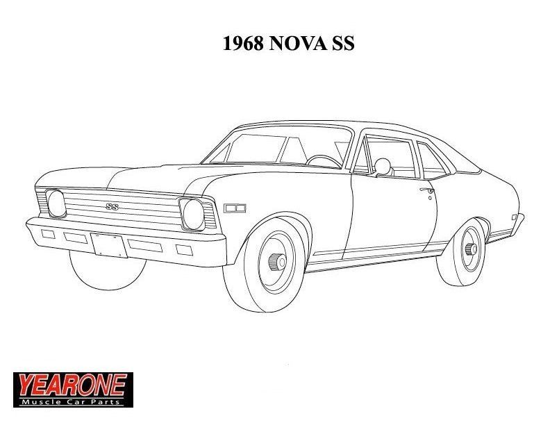 Chevrolet Coloring Page Bing Images Cars Coloring Pages 1968