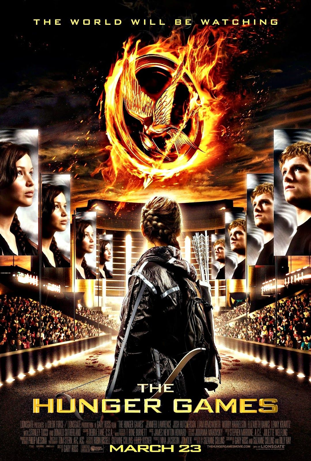 Hunger Games 2 Movie Poster See Best Of Photos Of The Hunger