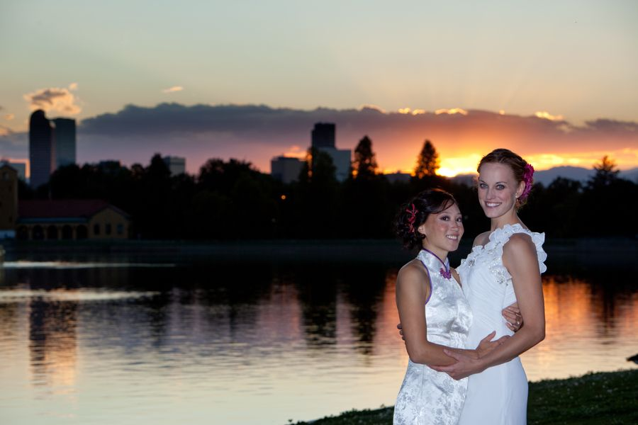 Real Colorado Wedding Mari And Grace City Park Rose Gardens Eventgallery 910arts