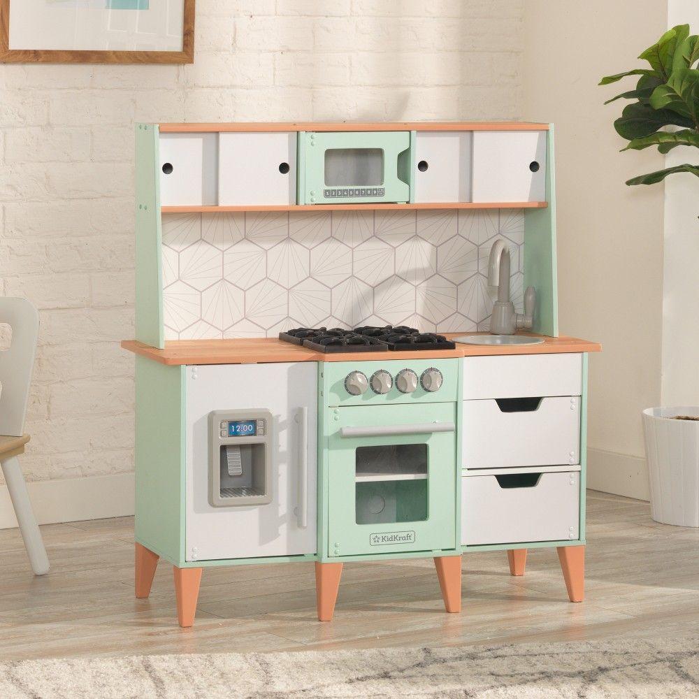 Kidkraft Mckinney Vintage Luxe Toddler Play Kitchen