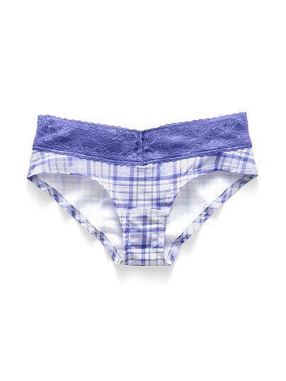 Lace-waist Hiphugger Panty Cotton Lingerie