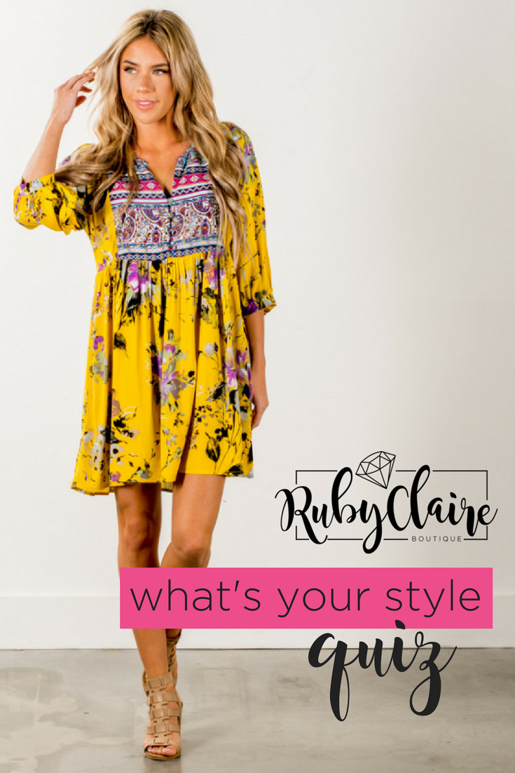 What's your style quiz? | Floral dress casual, Short ...