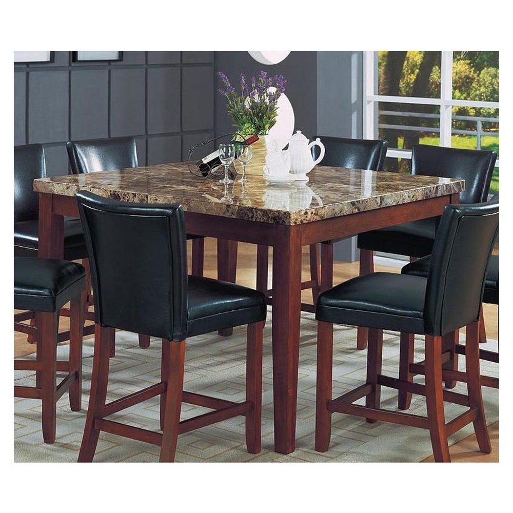 Attractive Granite Top Dining Table