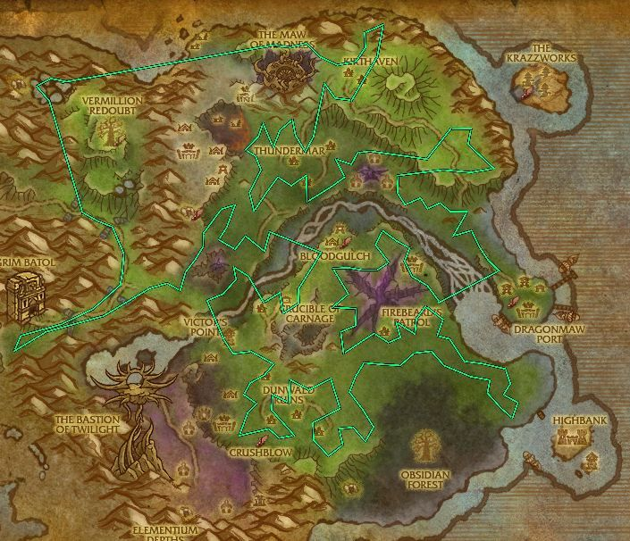 wow how to go to outland from stormwind