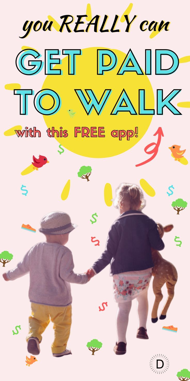 This app lets you earn money for your outdoor walking, meaning you'll be earning money for doing wha...