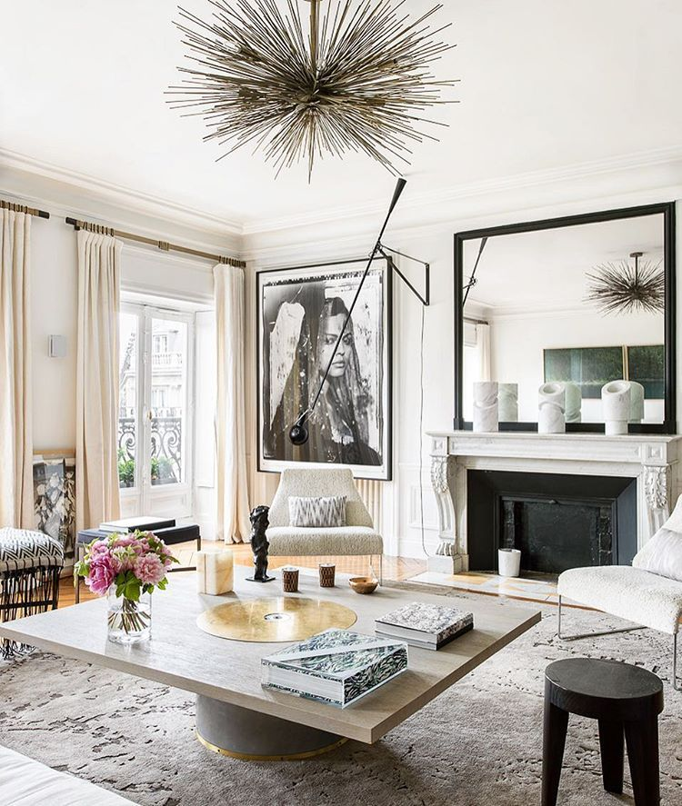 "Paris Home Decor: ""A #parisian #apartment Decorated By @emmadonnersberg"