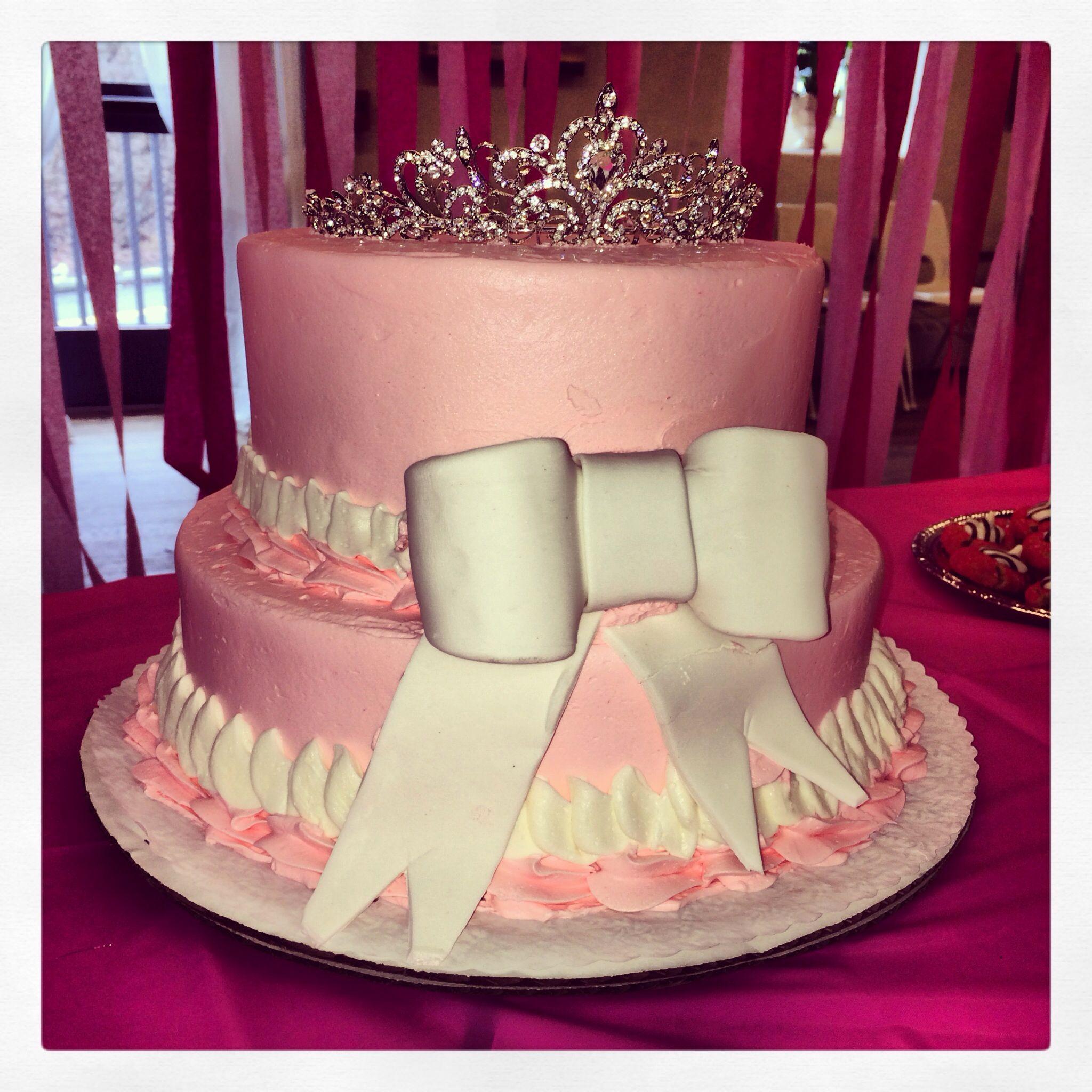 princess cake for girl baby shower cakes pinterest