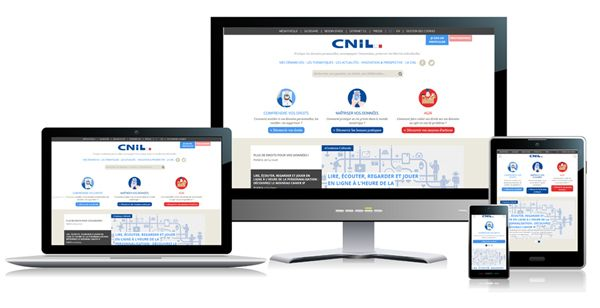 #ViedelaCNIL Qu'est ce qui change avec le nouveau site ? #Ereputation #vieprivée #droits @CNIL