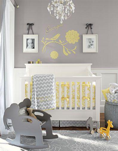 Baby Room Striking Baby Room Decor With Grey Yellow Area Rug