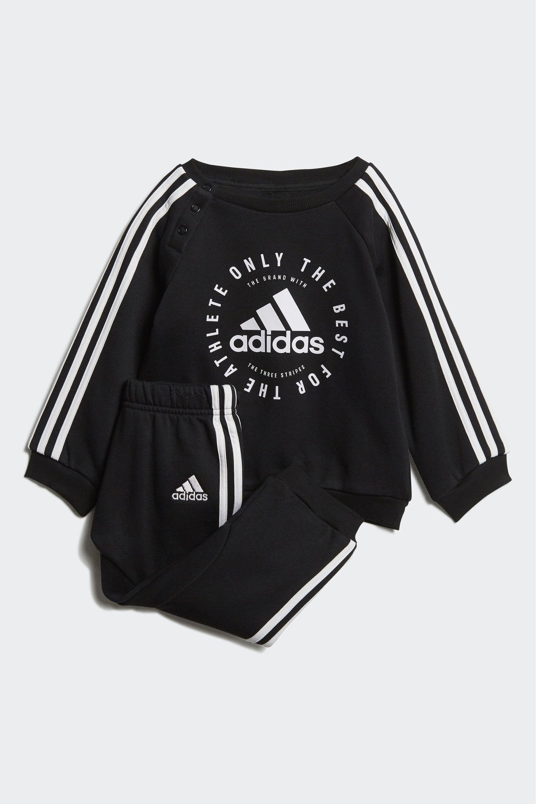 adidas fleece 3-stripes jogger set