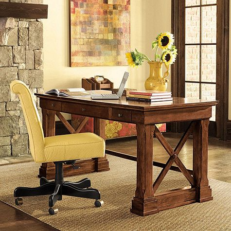 bourdonnais desk  home office desks mahogany desk home