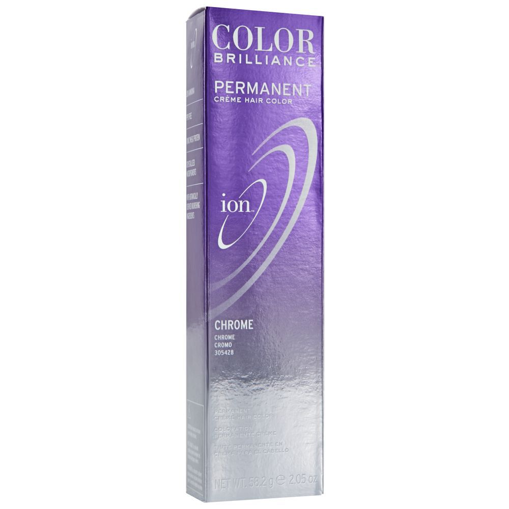 Ion Chrome Permanent Creme Hair Color By Color Brilliance Permanent Hair Color In 2020 Ion Color Brilliance Hair Color Permanent Hair Color