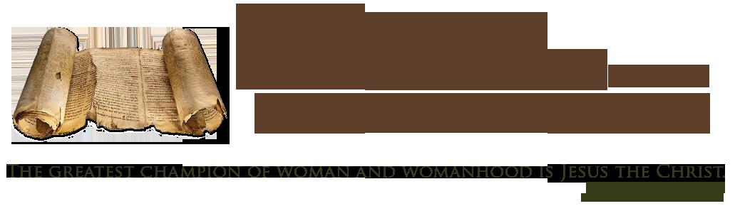 Women in the Scriptures Blog