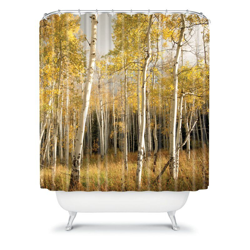 DENY Designs Bird Wanna Whistle Nature Photograph Shower Curtain - 12657-SHOCUR