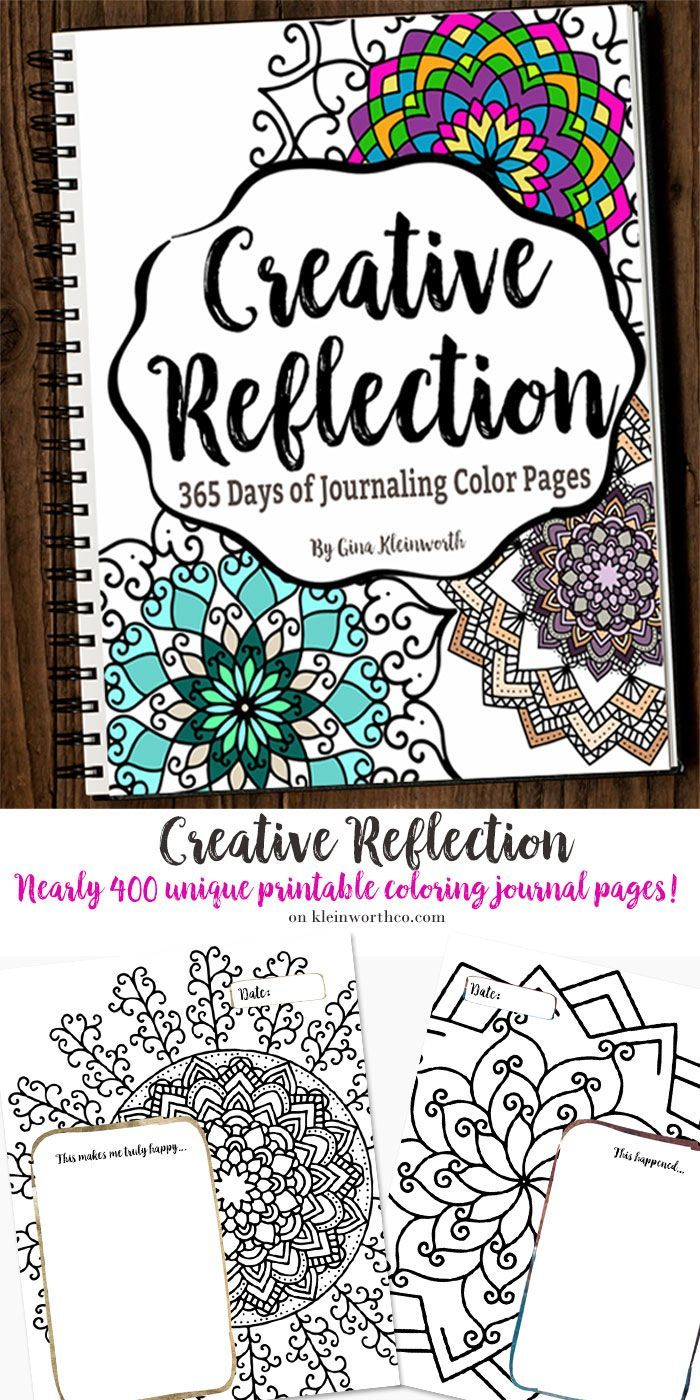 Creative Reflection 365 Days To Journal Feed Your Inner Artist With Nearly 400 Pages