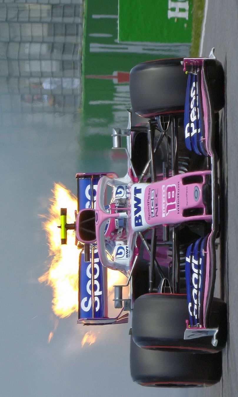 540ce3049 2019/6/9:Twitter:@F1: 🔥😮 Replays show flames spewing from the rear of  Stroll's car just before he returned to the pits #CanadianGP 🇨🇦 #F1 ...