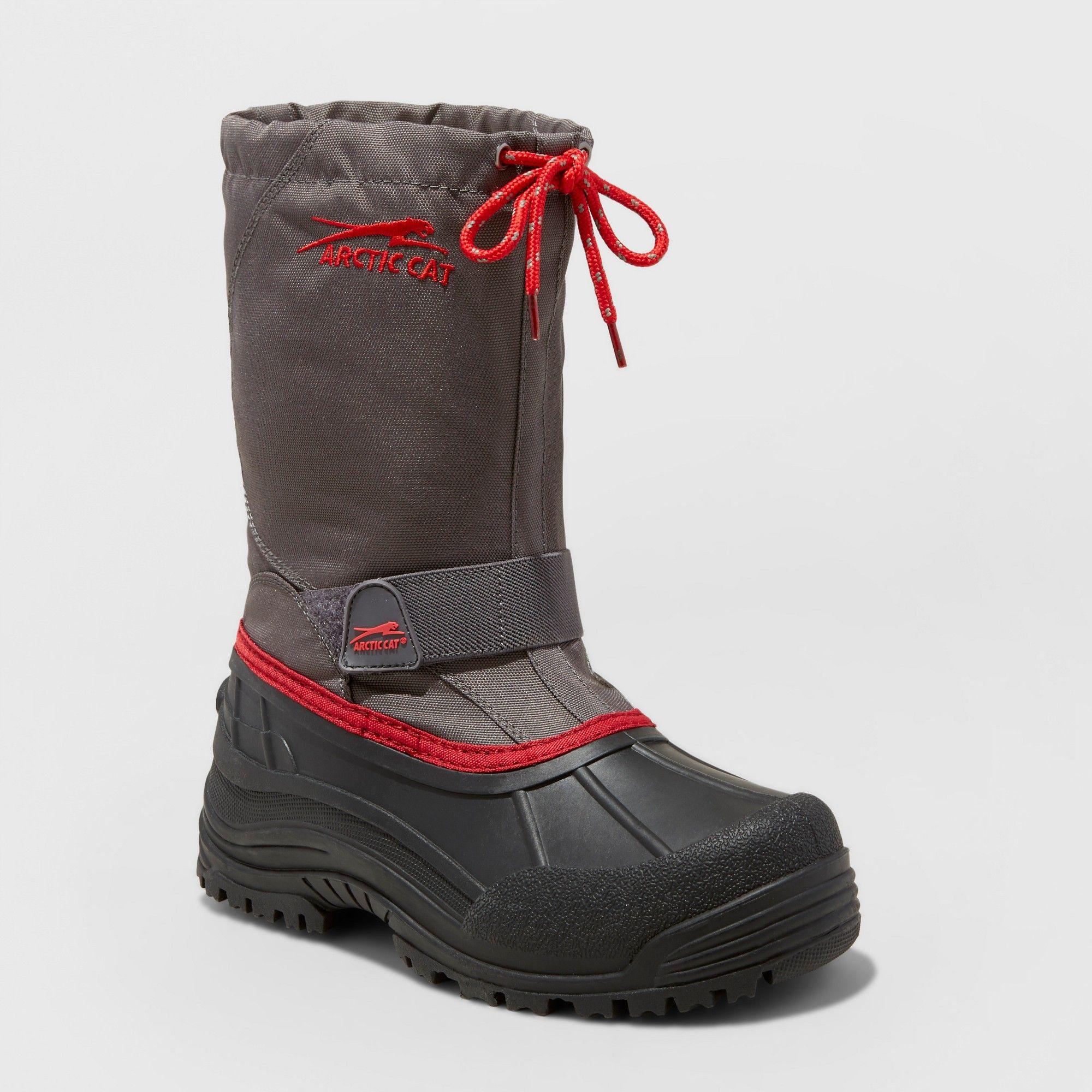 5bef6753b379 Boys  Arctic Cat Snowshower Winter Boots - Gray 2