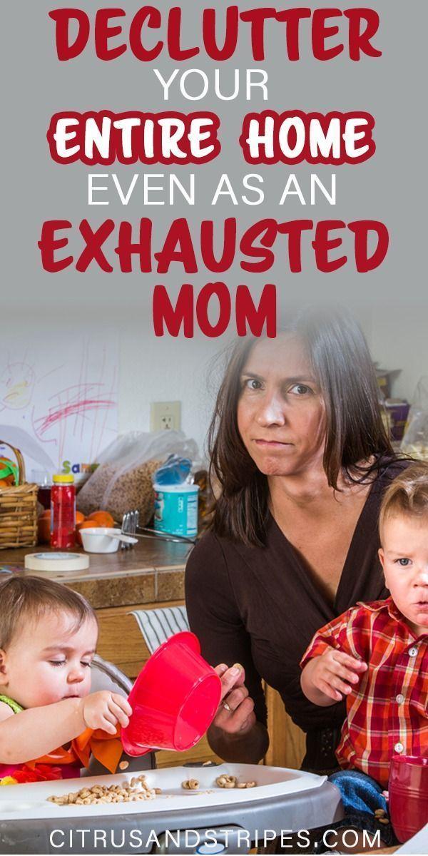 Declutter Your Way To A Calmer Household #declutter