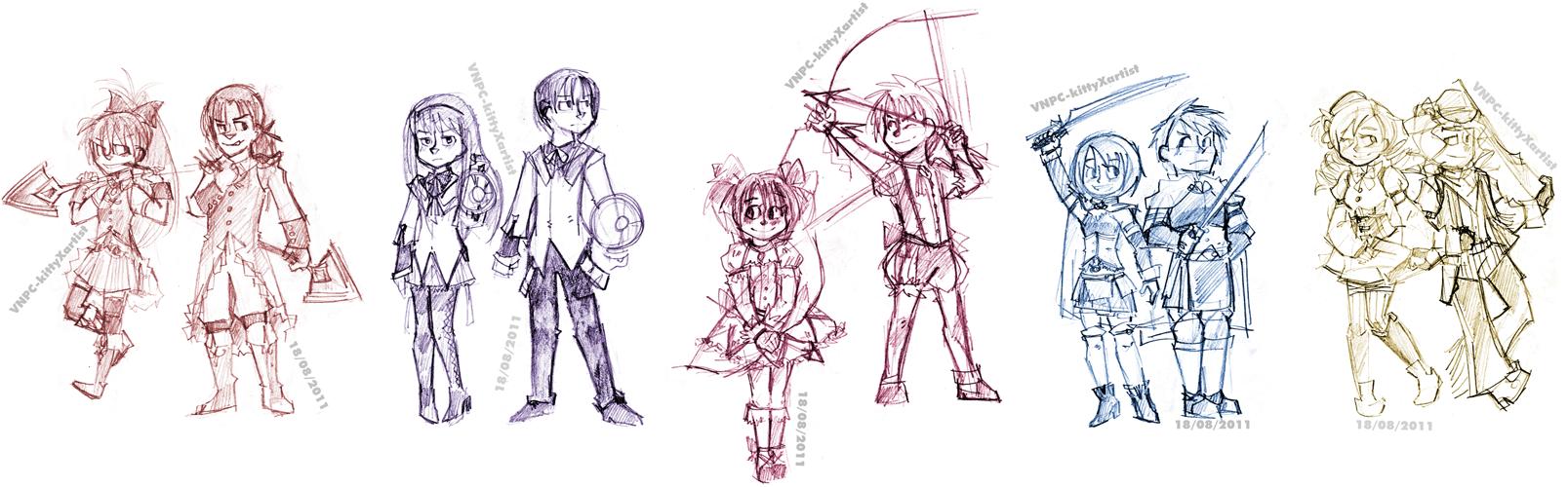 how to draw shonen anime