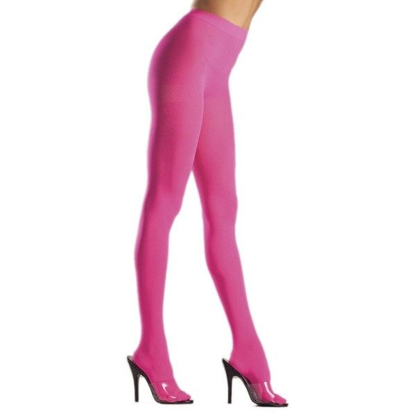ac6f5df6c Amazon.com  Women s Solid Lime Green Opaque Nylon Pantyhose Costume... (