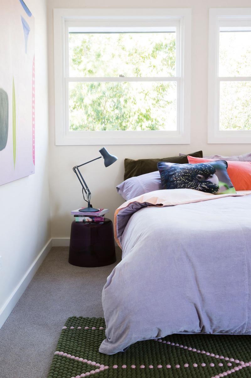 Bed against the window  masterbedroomdreamitsuzannegormanjasonbuschsept